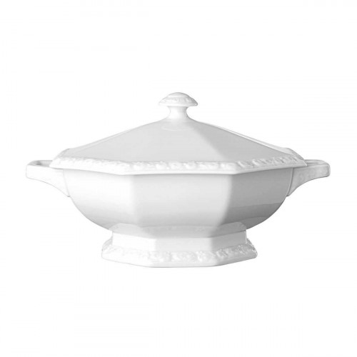 Rosenthal Tradition Maria white bowl with lid 1,40 L