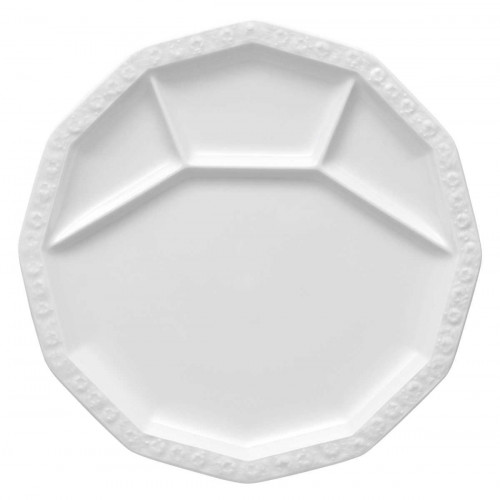 Rosenthal Tradition Maria white fondue-/grill plate 28 cm
