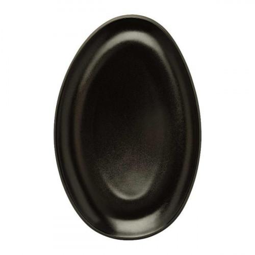 Rosenthal Junto Slate Grey - Stoneware Plate 25 cm