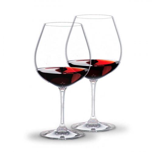 Riedel Glasses 'Vinum' Burgundy 2 pcs Set 21 cm