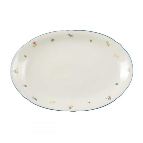 Seltmann Weiden Marie-Luise Streublume oval plate 31 cm