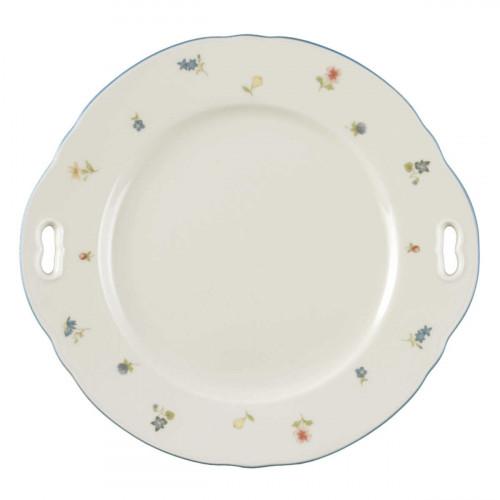 Seltmann Weiden Marie-Luise Streublume cake plate with size 27 cm