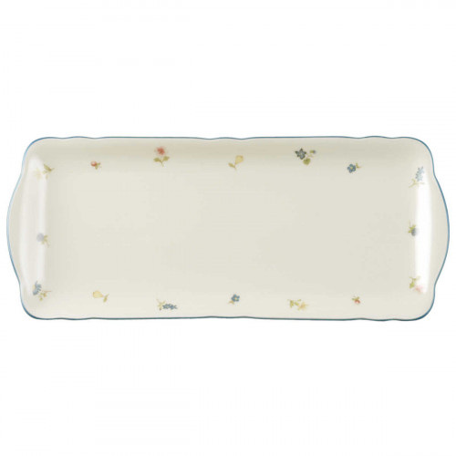 Seltmann Weiden Marie-Luise Streublume cake plate with size square 35 cm