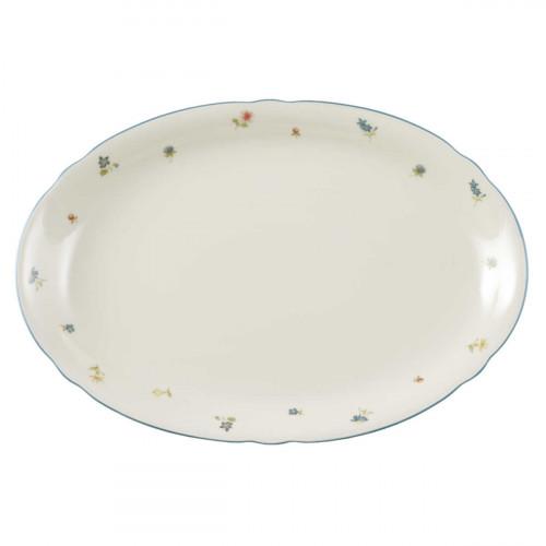 Seltmann Weiden Marie-Luise Streublume oval plate 35 cm