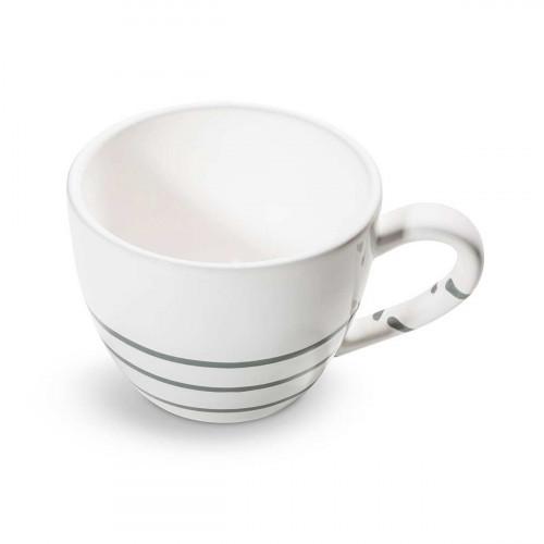 Gmundner Ceramic Pure Flamed Grey Tea Sugar Cup Maxima 0,4 L / h: 9 cm
