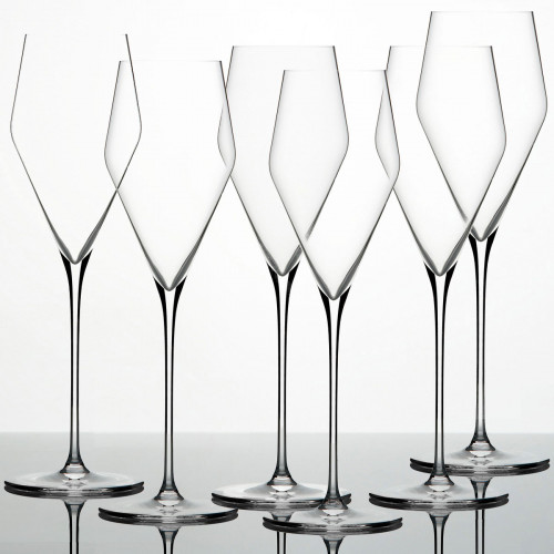 Zalto Glasses 'Zalto Denk'Art' Champagne Glass 6 pcs Set 24 cm