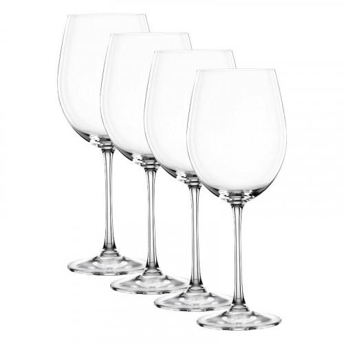 Nachtmann,'Vivendi Premium - Lead Crystal' Bordeaux Goblet 4 pcs set,763 ml