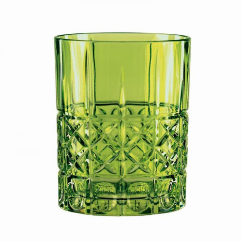 Nachtmann,'Highland' Drinking glass,color: reseda 345 ml