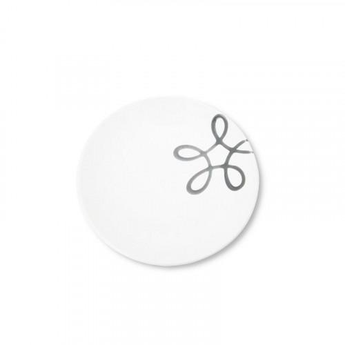 Gmundner Keramik,'Pur Geflammt Grau' Coffee Saucer 15 cm