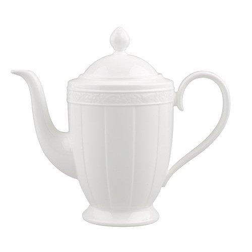 Villeroy & Boch 'White Pearl' Coffee Pot 6 Persons 1.35 L