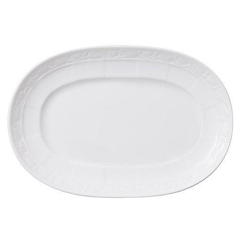 Villeroy & Boch 'White Pearl' Pickle dish / gravy boat saucer 22 cm