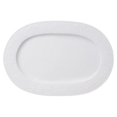 Villeroy & Boch 'White Pearl' Oval Platter 35 cm