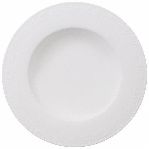 Villeroy & Boch 'White Pearl' Soup Plate 24 cm