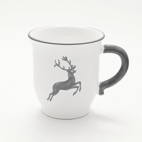 Gmundner Ceramics 'Grey Deer' Chocolate Cup 0.3 L