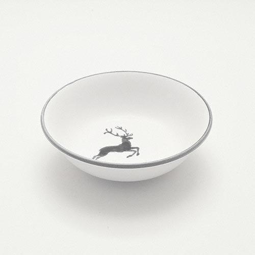 Gmundner Ceramics 'Grey Deer' Dessert Bowl 14 cm
