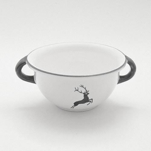 Gmundner Ceramics 'Grey Deer' Bowl Weitling 17 cm