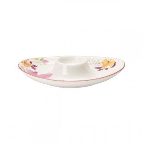 Villeroy & Boch,'Mariefleur Basic' Egg cup with tray