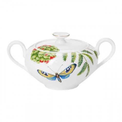 Villeroy & Boch,'Amazonia Anmut' Sugar bowl for 6 persons 0.35 l