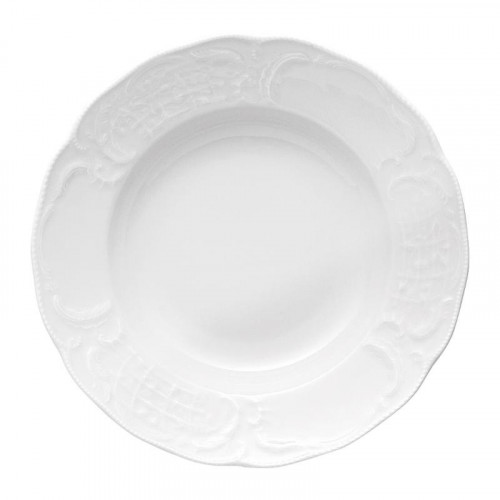 Rosenthal Tradition,'Sanssouci weiss' Soup plate,23 cm