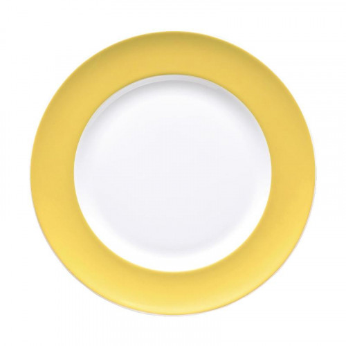 Thomas,'Sunny Day Yellow' Bread plate 18 cm