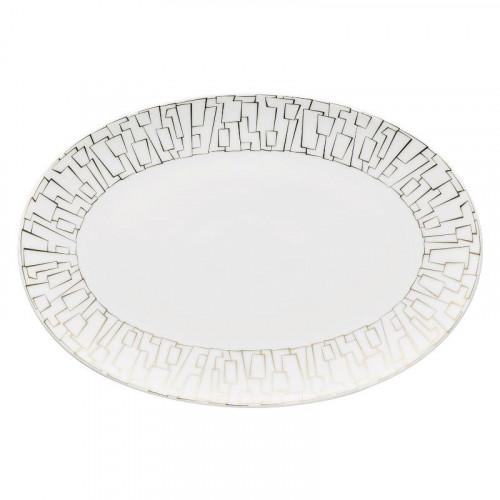 Rosenthal Studio-line,'TAC Gropius - Skin Gold' Platter 38x26 cm
