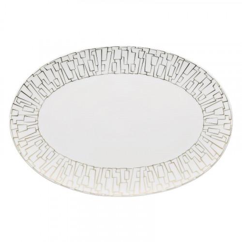 Rosenthal Studio-line,'TAC Gropius - Skin Gold' Platter 34x23,5 cm