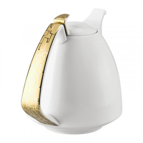 Rosenthal Studio-line,'TAC Gropius - Skin Gold' Coffee pot for 6 persons,1,50 l