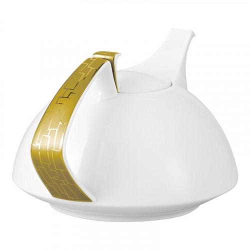 Rosenthal Studio-line,'TAC Gropius - Skin Gold' Tea Pot 6 persons 1,35 L