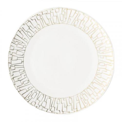 Rosenthal Studio-line,'TAC Gropius - Skin Gold' Breakfast plate,22 cm