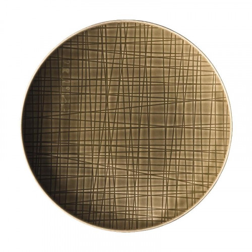 Rosenthal Selection,'Mesh Walnut' Plate flat 19 cm