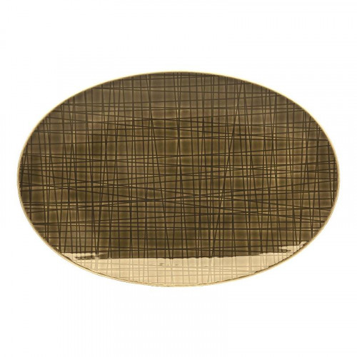 Rosenthal Selection,'Mesh Walnut' Platter 25 cm