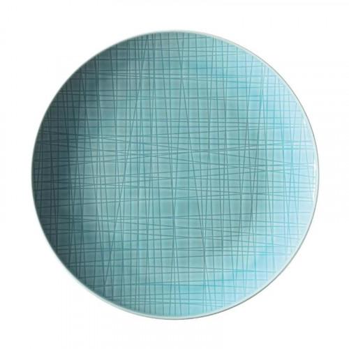 Rosenthal Selection,'Mesh Aqua' Plate flat 21 cm