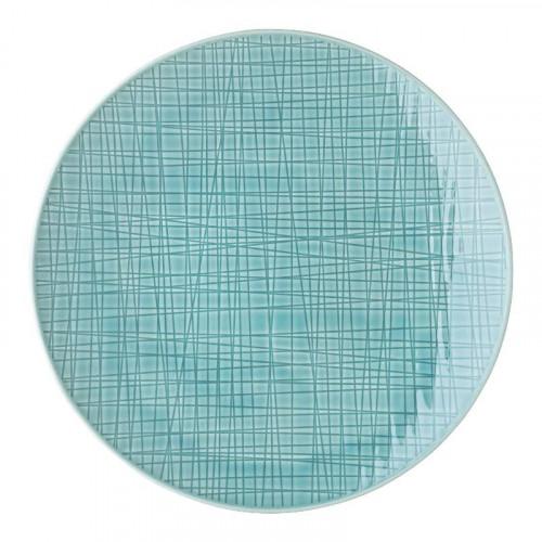 Rosenthal Selection,'Mesh Aqua' Plate flat 24 cm