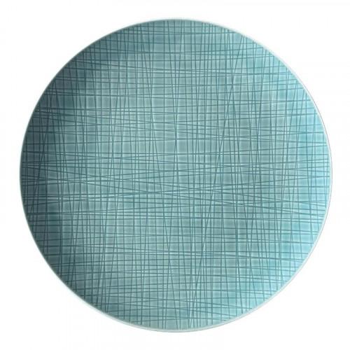 Rosenthal Selection,'Mesh Aqua' Plate flat 27 cm