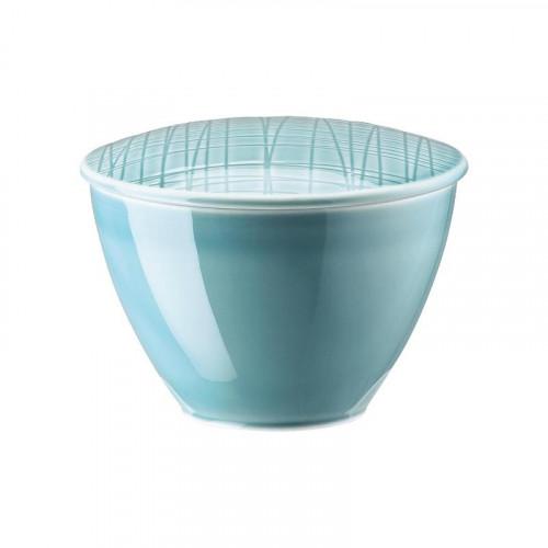 Rosenthal Selection,'Mesh Aqua' Sugar bowl 0.22 l