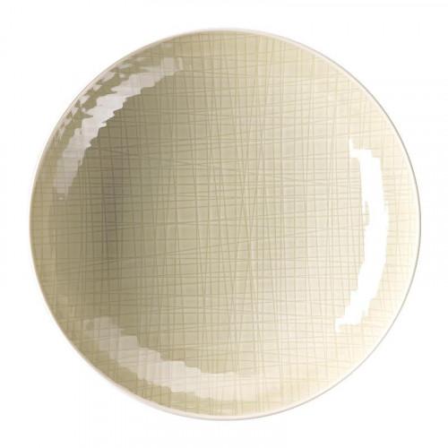 Rosenthal Selection,'Mesh Cream' Plate deep / pasta plate 25 cm