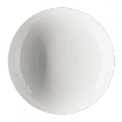 Rosenthal Selection Mesh white deep plate / pasta plate 25 cm