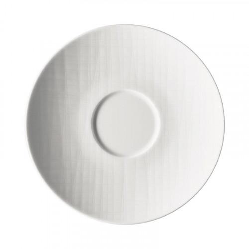 Rosenthal Selection Mesh white Café au Lait/soup saucer 18 cm