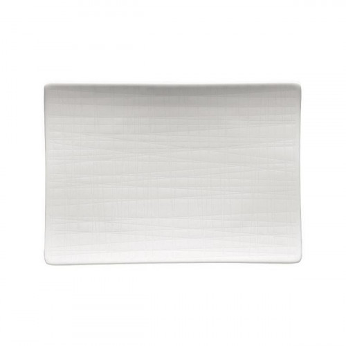 Rosenthal Selection Mesh white flat plate 18x13 cm