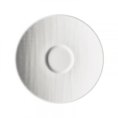 Rosenthal Mesh white Espresso saucer 12 cm