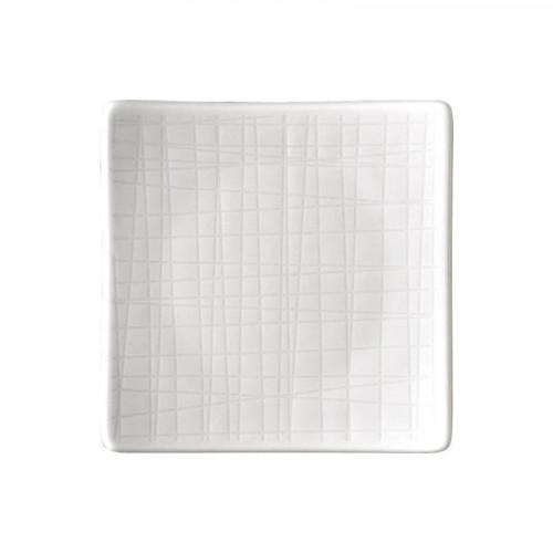 Rosenthal Selection Mesh white plate square flat 9 cm
