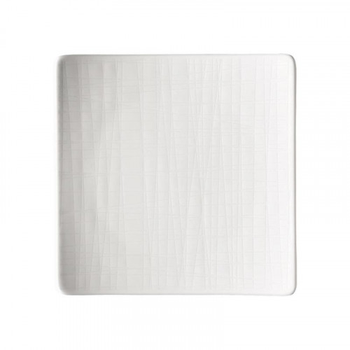 Rosenthal Mesh white plate square flat 14 cm