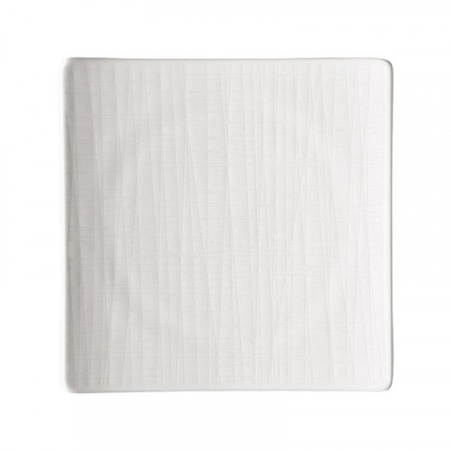 Rosenthal Selection Mesh white plate square flat 17 cm