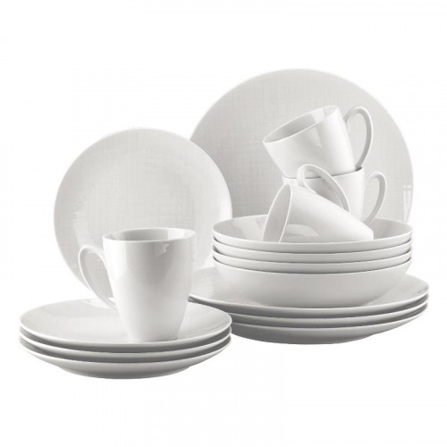 Rosenthal Selection,'Mesh weiss' Universal set (with mug) 16 pcs