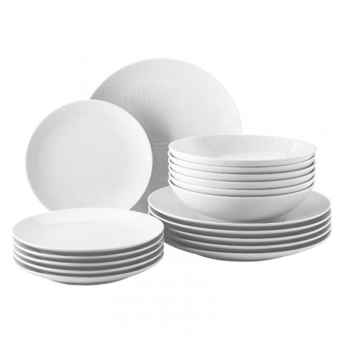 Rosenthal Selection,'Mesh weiss' Plate Set 18 pcs