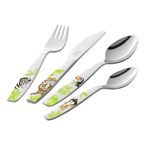 Zwilling,'Childrens Cutlery' Children's Cutlery 'Jungle',4 pcs set