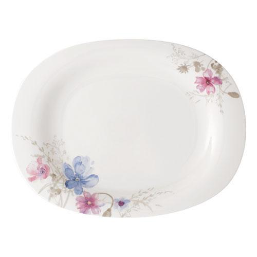 Villeroy & Boch,'Mariefleur Gris Basic' Serving Dish / Platter 34 cm