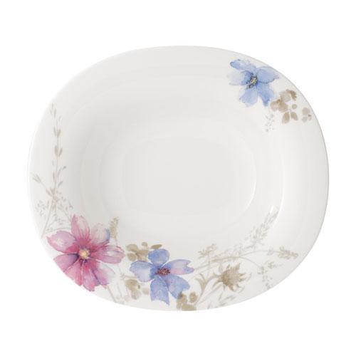 Villeroy & Boch,'Mariefleur Gris Basic' Soup Plate oval 24x21 cm