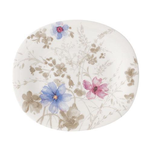Villeroy & Boch,'Mariefleur Gris Basic' Breakfast Plate oval 23x19 cm