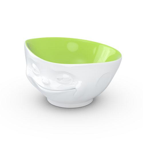 TV Cups TV Milky Coffee Cup - Dish on the inside pistachio grinning 0,5 L